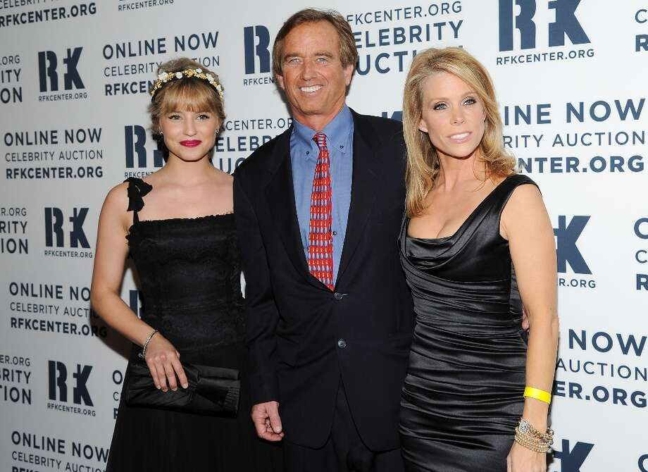 Actress Dianna Agron, left, Robert F. Kennedy Jr. and actress Cheryl Hines attend the Robert F. Kennedy Center for Justice and Human Rights 2012 Ripple of Hope awards at the Marriott Marquis Hotel on Monday Dec. 3, 2012 in New York. (Photo by Evan Agostini/Invision/AP) Photo: Evan Agostini, Associated Press / Invision