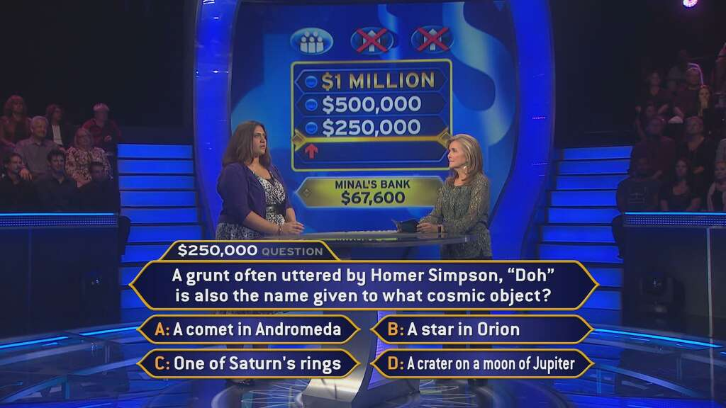 math teacher scores on 'who wants to be a millionaire' - houston, Powerpoint templates