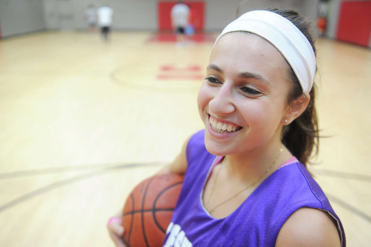 Westhill 3-sport star Megan D'Alessandro at the Italian Community Center in Stamford, Conn., August 8, 2012.