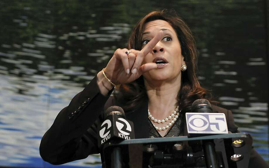 Attorney General Kamala Harris Photo: Michael Macor, The Chronicle