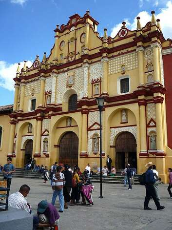 Situated in a valley in the mountains of Chiapas, San Cristobal de las Casas is one of Mexico's best-preserved colonial towns and provides ample opportunity to mingle with highland Maya.  Photo: Christine Delsol, Special To SFGate