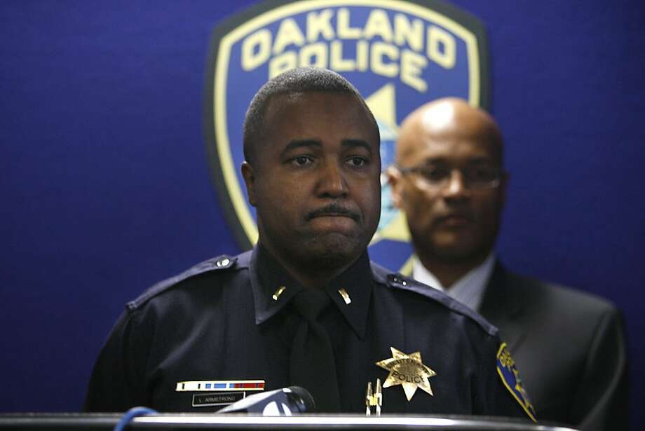 """Police Lt. Leronne Armstrong said the victim aided investigators: """"We're very proud of her courage."""" Photo: Liz Hafalia, The Chronicle"""