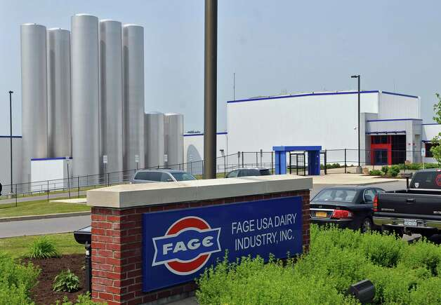 View of the FAGE USA Dairy Industry plant in the Johnstown Industrial Park,  on Wednesday June 8, 2011 in Johnstown, NY. ( Philip Kamrass / Times Union) Photo: Philip Kamrass