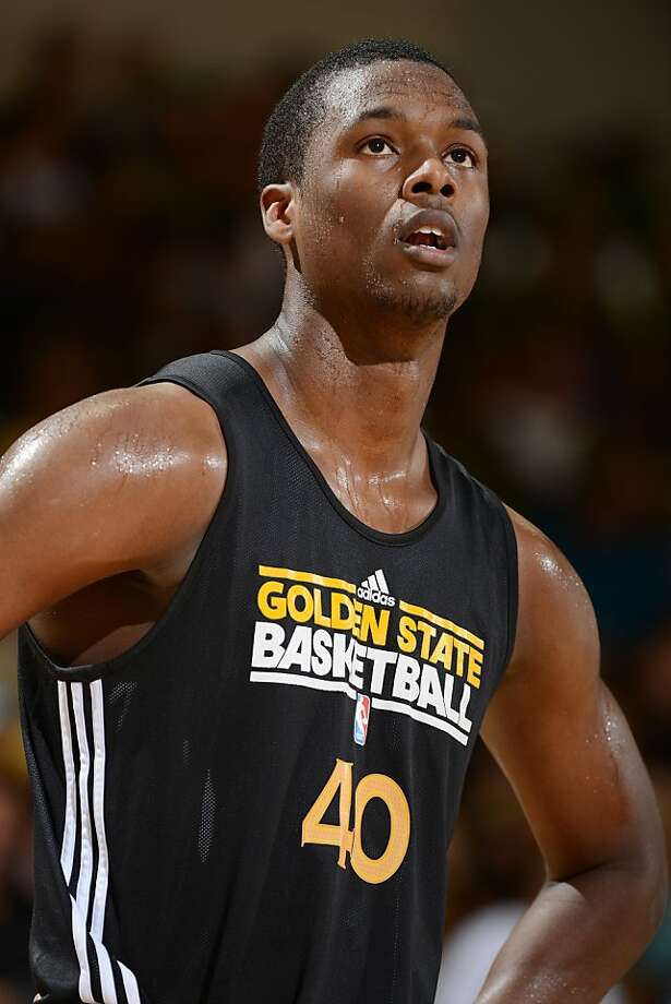 Harrison Barnes leads three Warriors rookies who are solidly contrib- uting. Photo: Garrett Ellwood, NBAE/Getty Images