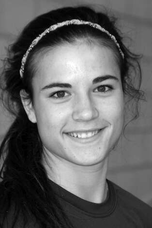 Bridget Power, Newtown girls soccer High school sports all star, fall 2012. Photo: Contributed Photo / Connecticut Post Contributed