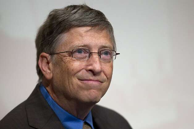 Bill Gates Photo: Jin Lee, Bloomberg