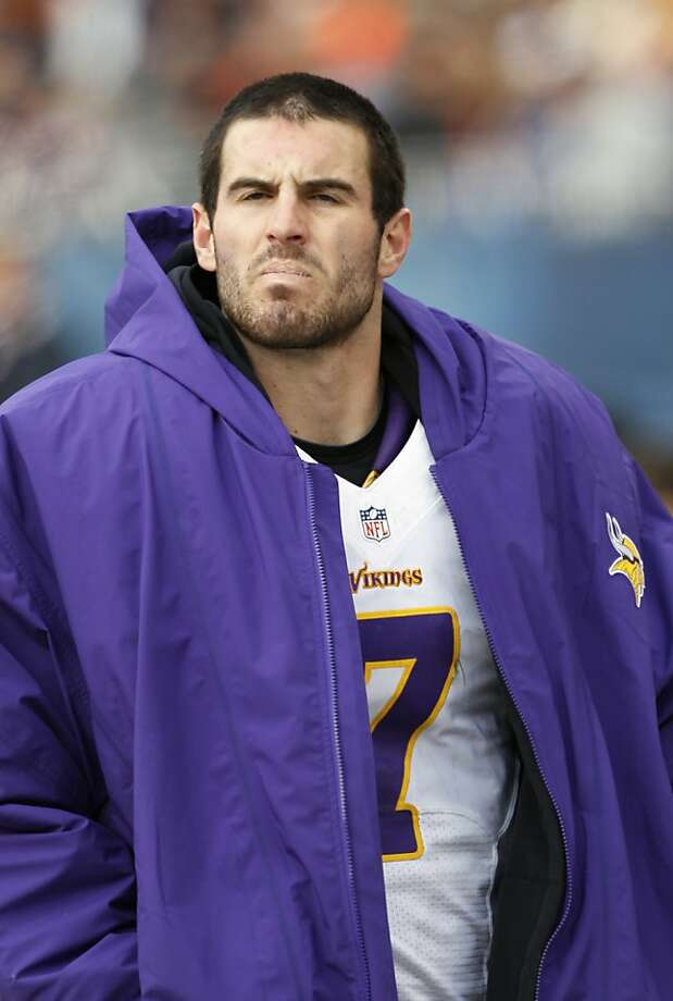Christian Ponder Photo: Charles Rex Arbogast, Associated Press