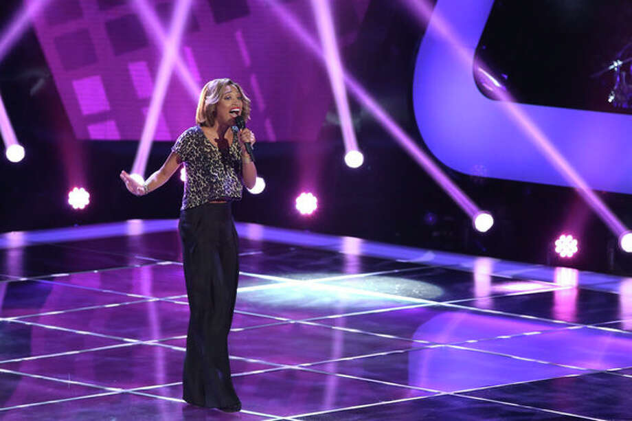 THE VOICE -- Blind Auditions -- Pictured: Amanda Brown -- (Photo by: Tyler Golden/NBC) Photo: NBC, Tyler Golden/NBC / 2012 NBCUniversal Media, LLC