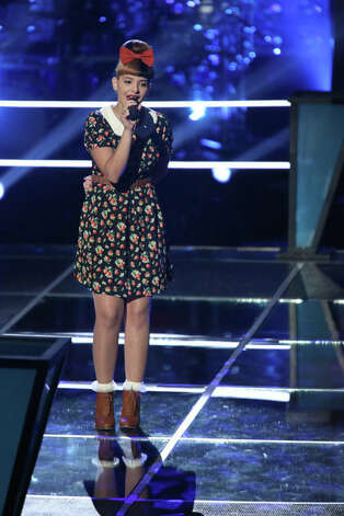 THE VOICE -- Battle Rounds -- Pictured: Melanie Martinez -- (Photo by: Tyler Golden/NBC) Photo: NBC, Tyler Golden/NBC / 2012 NBCUniversal Media, LLC