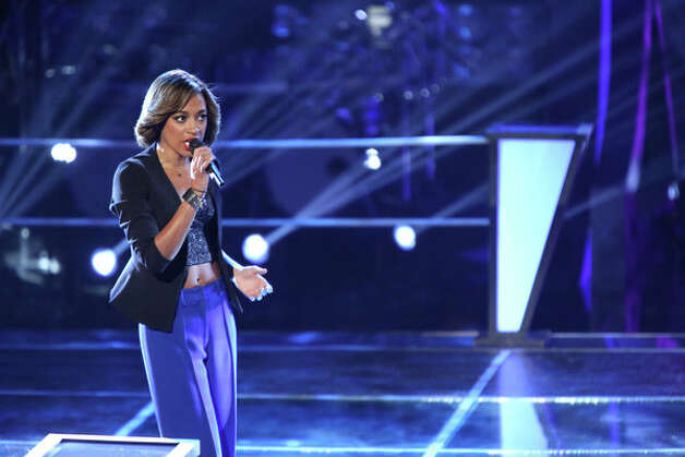 THE VOICE -- Battle Rounds -- Pictured:  Amanda Brown -- (Photo by: Tyler Golden/NBC) Photo: NBC, Tyler Golden/NBC / 2012 NBCUniversal Media, LLC