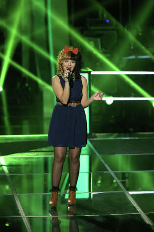 THE VOICE -- Knockout Rounds Episode 315 -- Picture: Melanie Martinez -- (Photo by: Tyler Golden/NBC) Photo: NBC, Tyler Golden/NBC / 2012 NBCUniversal Media, LLC