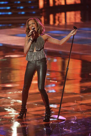 THE VOICE -- Live Show Episode 317A -- Pictured: Amanda Brown -- (Photo by: Tyler Golden/NBC) Photo: NBC, Tyler Golden/NBC / 2012 NBCUniversal Media, LLC