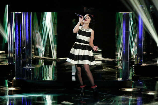 THE VOICE -- Live Show Episode 318A -- Pictured: Melanie Martinez -- (Photo by: Tyler Golden/NBC) Photo: NBC, Tyler Golden/NBC / 2012 NBCUniversal Media, LLC