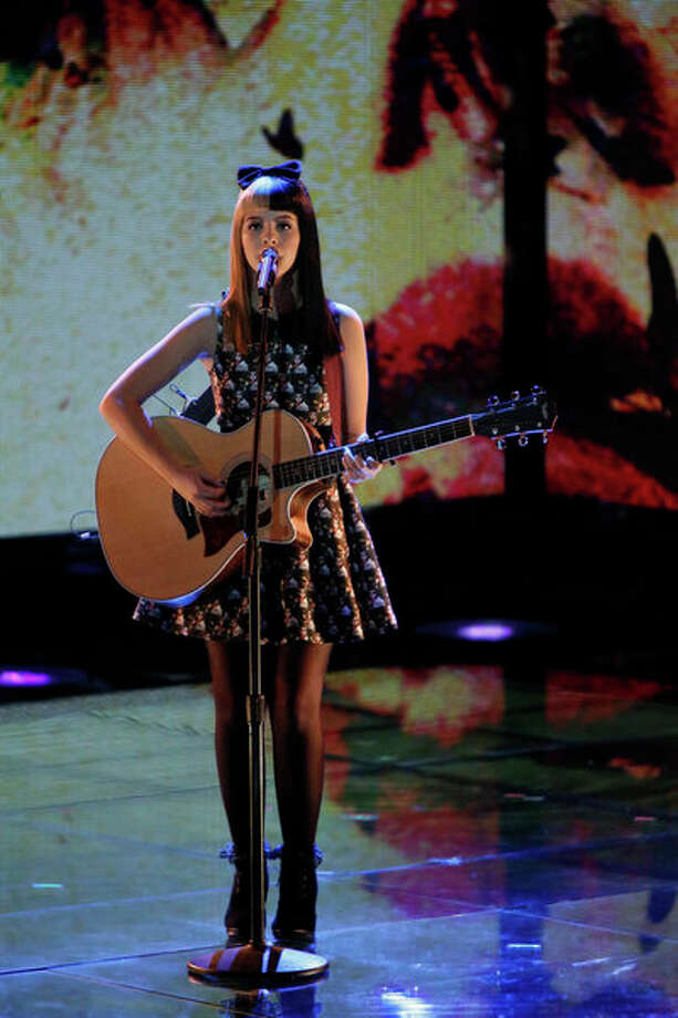 THE VOICE -- Live Show Episode 319A -- Pictured: Melanie Martinez -- (Photo by: Tyler Golden/NBC) Photo: NBC, Tyler Golden/NBC / 2012 NBCUniversal Media, LLC