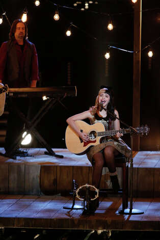 THE VOICE -- Live Show Episode 320A -- Pictured: Melanie Martinez -- (Photo by: Tyler Golden/NBC) Photo: NBC, Tyler Golden/NBC / 2012 NBCUniversal Media, LLC