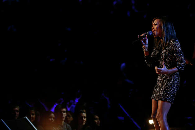 THE VOICE -- Live Show Episode 321A -- Pictured: Amanda Brown -- (Photo by: Trae Patton/NBC) Photo: NBC, Trae Patton/NBC / 2012 NBCUniversal Media, LLC