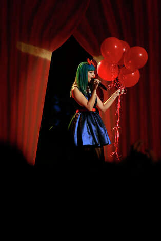 THE VOICE -- Live Show Episode 321A -- Pictured: Melanie Martinez -- (Photo by: Trae Patton/NBC) Photo: NBC, Trae Patton/NBC / 2012 NBCUniversal Media, LLC