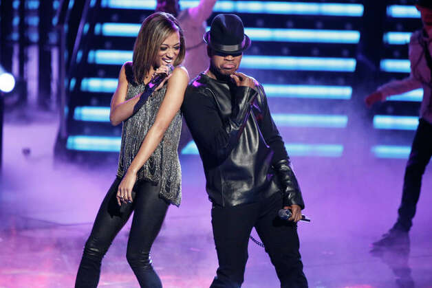 THE VOICE -- Live Show Episode 321B -- Pictured: (l-r) Amanda Brown, Ne-Yo -- (Photo by: Tyler Golden/NBC) Photo: NBC, Tyler Golden/NBC / 2012 NBCUniversal Media, LLC