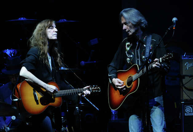 Patti Smith opens for Neil Young in concert at the Webster Bank Arena in Bridgeport, Conn. on Tuesday December 4, 2012. Photo: Christian Abraham / Connecticut Post