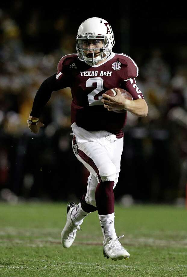 "Johnny Manziel's ""Johnny Football"" moniker is a throwback to the golden era of college football, where having a distinctive nickname helped boost the appeal of players. Photo: Scott Halleran, Getty Images / 2012 Getty Images"