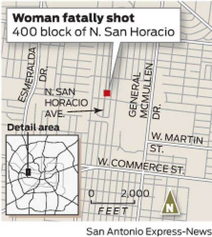 Woman fatally shot Photo: Express-News