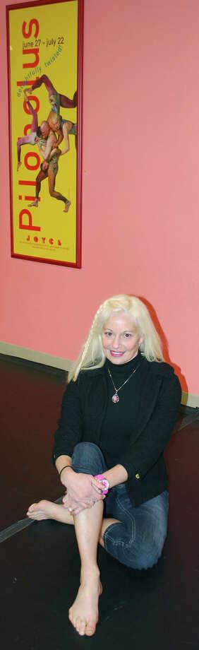 Studio D founder and artistic director Rebecca Anderson Darling is a former Pilobolus dancer. For Greater New Milford Chamber of Commerce Business Quarterly, December 2012. Photo: Deborah Rose