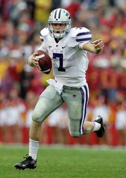 FIRST TEAM OFFENSE QB: Collin Klein, KSU; 6-5, 226; Sr.; Loveland, Colo. Photo: Charlie Neibergall, Associated Press / AP