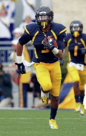 FIRST TEAM OFFENSE  WR: Stedman Bailey, WVU, 5-10, 193, Jr., Miami, Fla. (Miramar) Photo: Justin K. Aller, Getty Images / 2012 Getty Images
