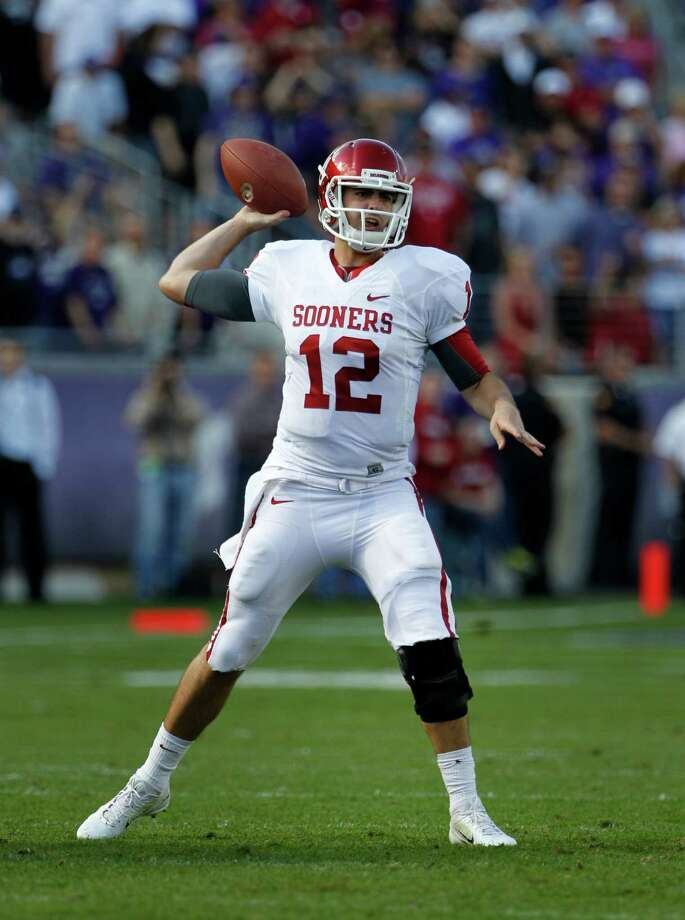 SECOND TEAM OFFENSE  QB: Landry Jones, OU, Sr. Photo: Tony Gutierrez, Associated Press / AP