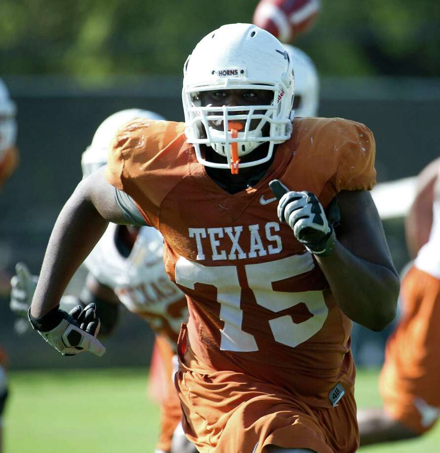 SECOND TEAM OFFENSE OL: Trey Hopkins, UT, Jr. Photo: University Of Texas Athletics