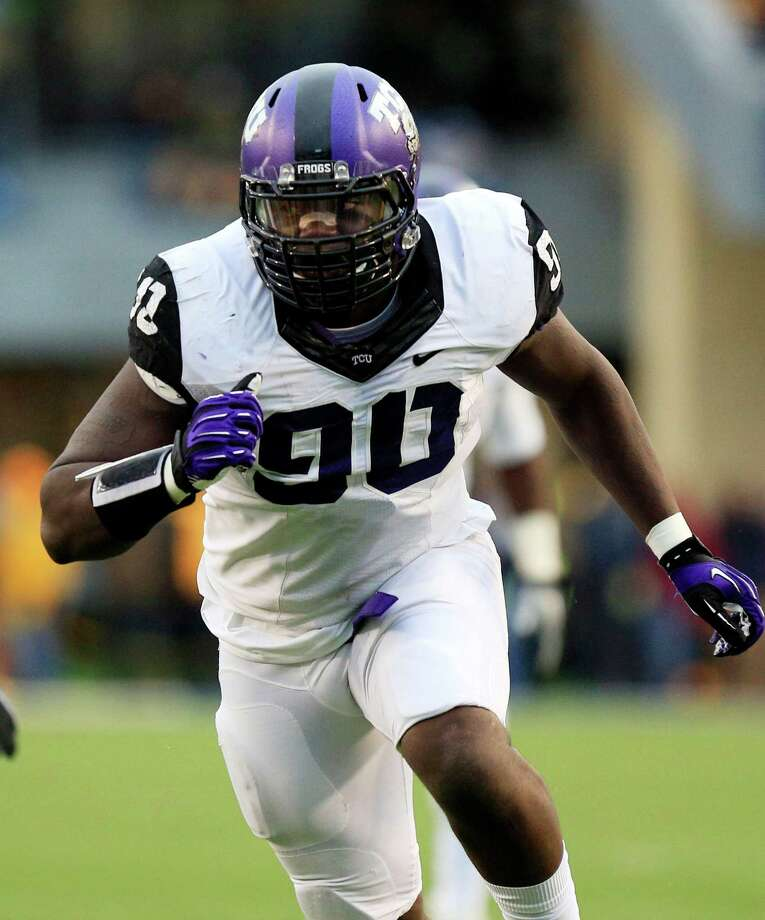 SECOND TEAM DEFENSE DL: Stansly Maponga, TCU, Jr. Photo: Christopher Jackson, Associated Press / FRE 170573 AP