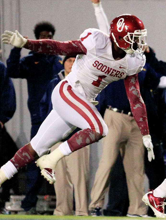 FIRST TEAM DEFENSE DB: Tony Jefferson, OU, 5-11, 212, Jr., Chula Vista, Calif. (Eastlake) Photo: Christopher Jackson, Associated Press / FRE 170573 AP