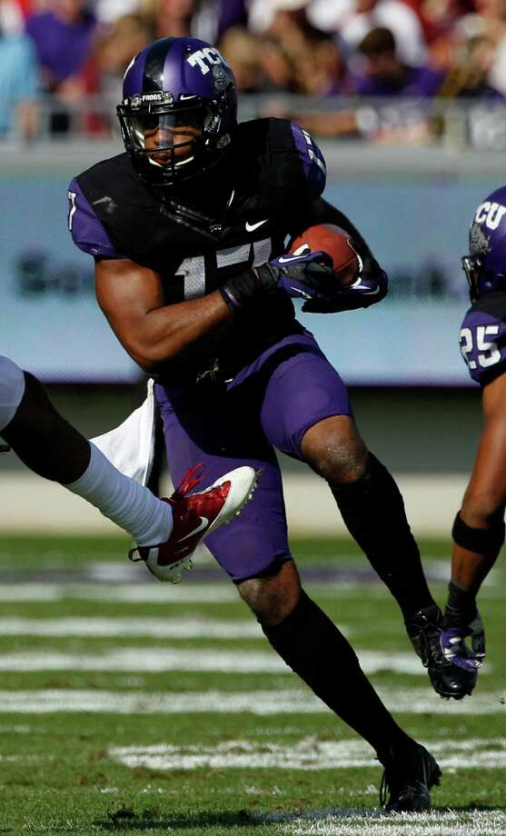 SECOND TEAM DEFENSE DB: Sam Carter, TCU, So. Photo: Tony Gutierrez, Associated Press / AP