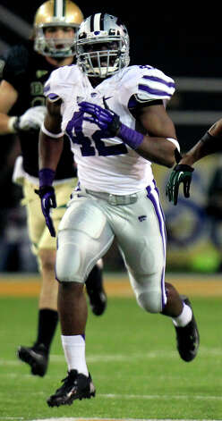 FIRST TEAM DEFENSE DL: Meshak Williams, KSU, 6-3, 245, Sr., Sylvester, Ga. (Hutchinson CC) Photo: LM Otero, Associated Press / AP