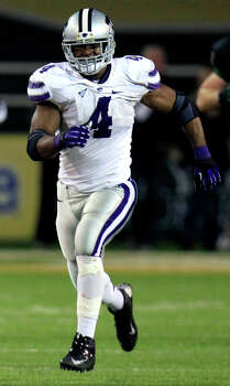 FIRST TEAM DEFENSE LB: Arthur Brown, KSU, 6-1, 228, Sr., Wichita, Kan. (East H.S./Miami) Photo: LM Otero, Associated Press / AP