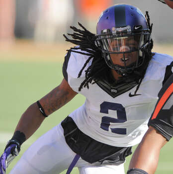 FIRST TEAM DEFENSE DB: Jason Verrett, TCU, 5-10, 180, Jr., Fairfield, Calif. (Rodriguez/Santa Rosa JC) Photo: Brody Schmidt, Associated Press / FR79308 AP