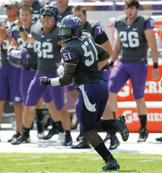 FIRST TEAM DEFENSE LB: Kenny Cain, TCU, 6-1, 225, Metaire, La. (John Curtis Christian) Photo: LM Otero, Associated Press