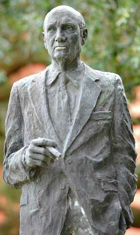 A metal Immortal has everlasting fame and will be remembered enduringly throughout time. In Beaumont, there are many metal busts, or statutes throughout the city, on buildings, in parks, or just standing at a corner. This is Jack Brooks when he was the US Congressman of the 9th District of Texas and he is found in the quad area on the Lamar University campus.  Dave Ryan/The Enterprise Photo: Robin Jerstad