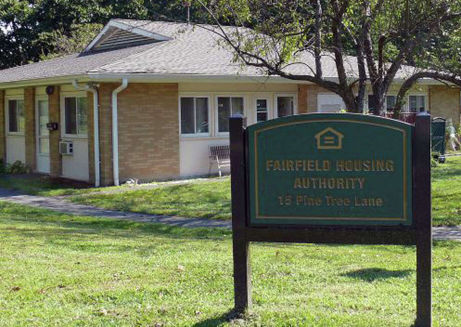 Pine Tree Lane, one of two housing comlexes managed by the Fairfield Housing Authority. Photo: File Photo / Fairfield Citizen