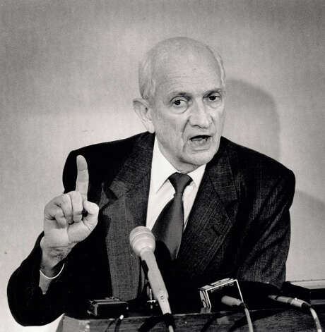 Jack Brooks during a press conference at the Holidome in 1990. Enterprise file photo