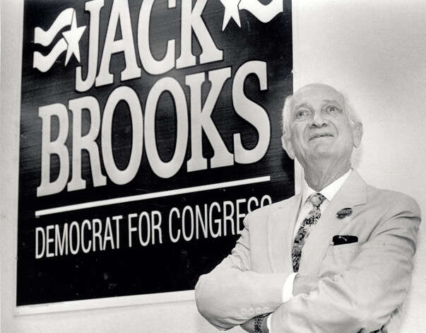 Jack Brooks during his 42 year of congress at his campaign headquarters at 310 North 11th Street in Beaumont.  Photo taken in 1994 Enterprise file photo