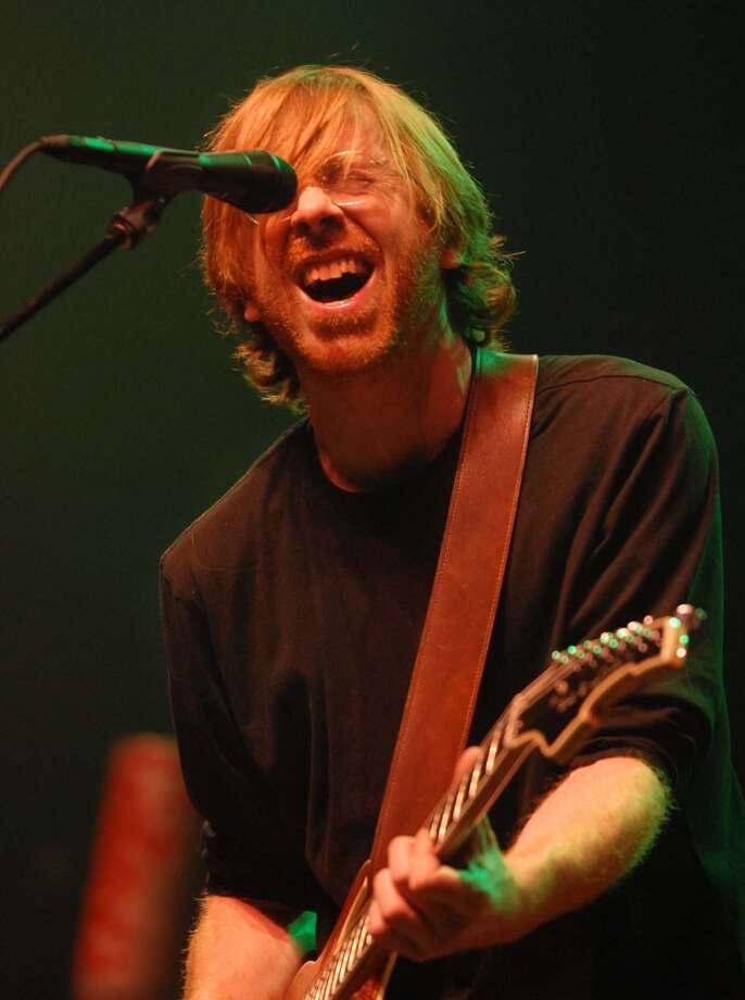 Times Union staff photo by Lori Van Buren -- Trey Anastasio, former front man for the band Phish, plays to a sold-out crowd at the Palace Theatre in Albany, NY on Friday, December 29, 2006. (ALBANY TIMES UNION)