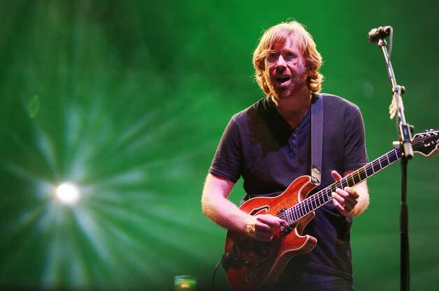 In this photo provided by Fuse TV via Starpix, Trey Anastasio of Phish performs at Bonaroo 2009, Friday, June 12, 2009 in Manchester Tenn. (AP Photo/Starpix, Amanda Schwab) (AP)