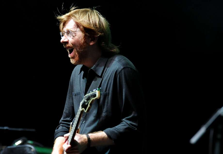 Trey Anastasio performs with Phish on Saturday, June 19, 2010, at Saratoga Performing Arts Center in Saratoga Springs, N.Y. (Cindy Schultz / Times Union) (ALBANY TIMES UNION)