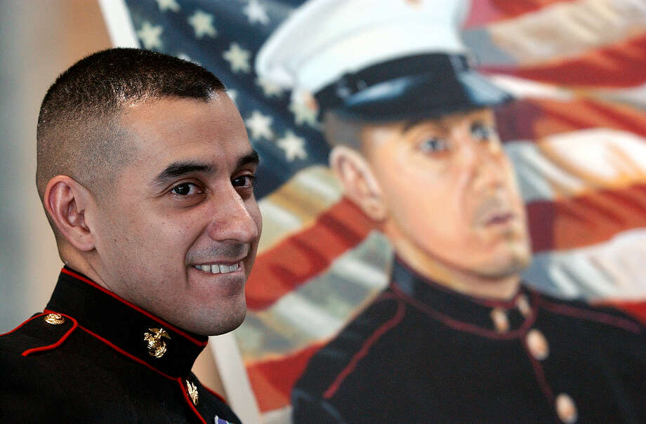 "Eric Alva – Born in San Antonio, Alva was the first service member injured in the Iraq War. Alva was a vocal critic of the ""Don't ask, don't tell"" policy. Photo: JERRY LARA, File Photo / SAN ANTONIO EXPRESS-NEWS"