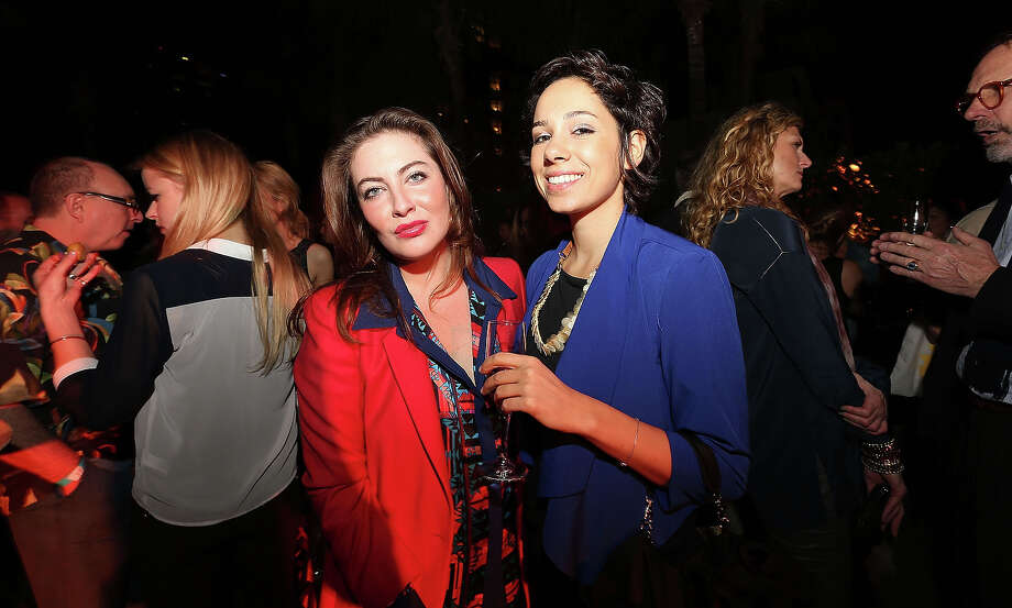 MIAMI BEACH, FL - DECEMBER 03:  (L-R) Mira Rosenhek and Pascale Wakim attend the Design Miami Cocktail Reception at W South Beach Hotel & Residences on December 3, 2012 in Miami Beach, Florida. Photo: Aaron Davidson, Getty Images For W Hotel / 2012 Getty Images
