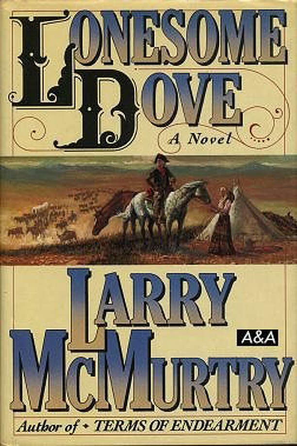 Lonesome Dove, by Larry McMurtry: Two crabby old men, and one herd of cattle, cross the gut of a great, unformed nation. Episodic, elemental. Photo: Contributed