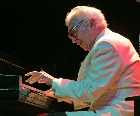 Dave Brubeck performs at Villa Montalvo in Saratoga.