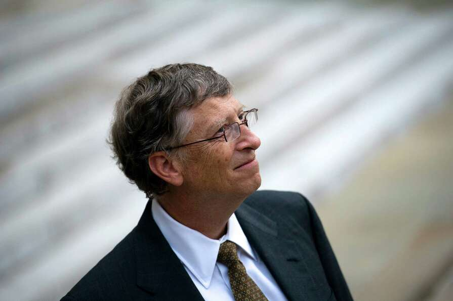 4. Bill Gates, 57, co-founder and chairman of Microsoft, co-founder and co-chairman of the Bi