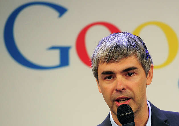 20 (tie). Larry Page, 39, CEO of Google. Photo: EMMANUEL DUNAND, AFP/Getty Images / 2012 AFP